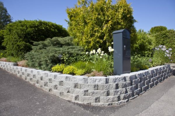 Megastone 150mm pyöreäksi lohkottu muurikivi